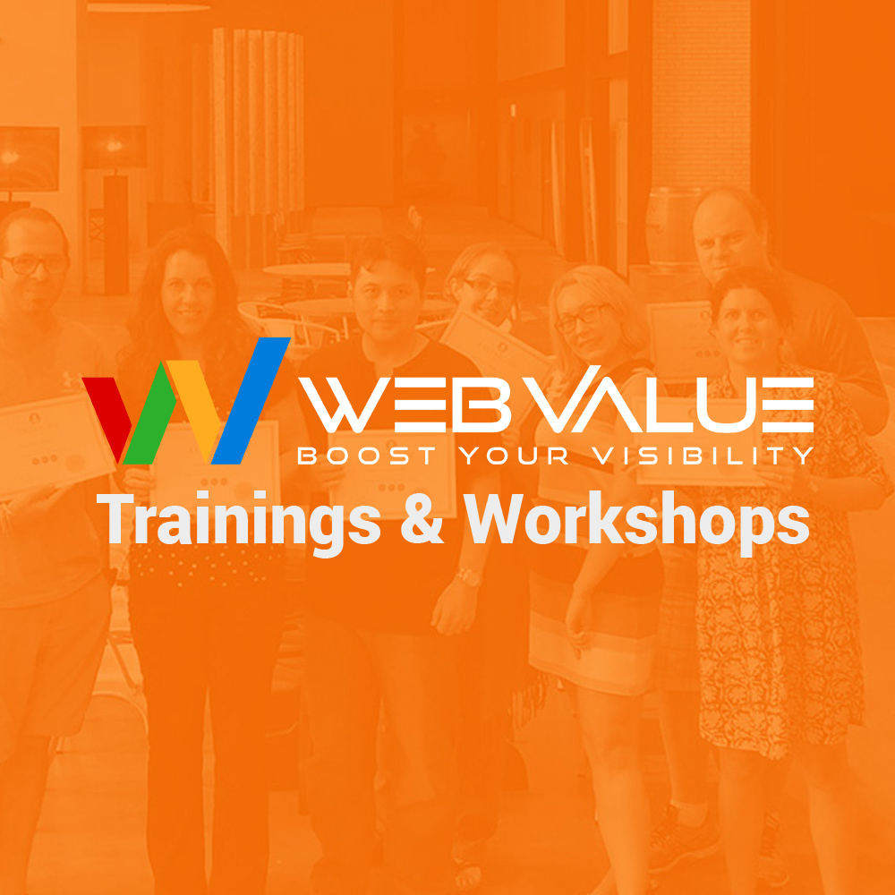 Workshops held by Web Value Agency in Toronto Canada