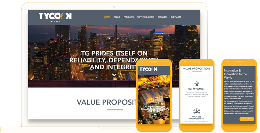 Tycoon Web Design in Toronto by WebValue Agency
