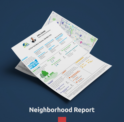 NeighborhoodReport Mockup