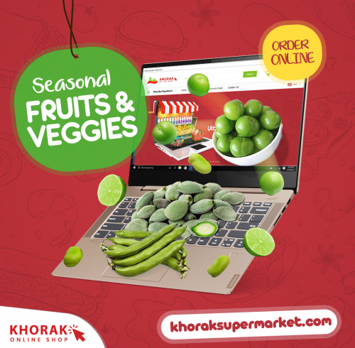 Khorak Supermarket Social Media Post